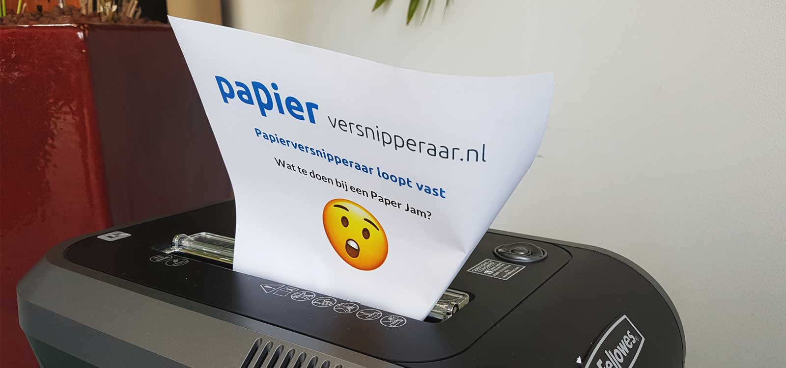 papierversnipperaar-vastgelopen-paper-jam-repareren