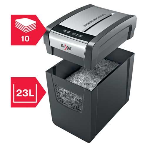 Rexel-Momentum-X410-SL-Slimline-Shredder