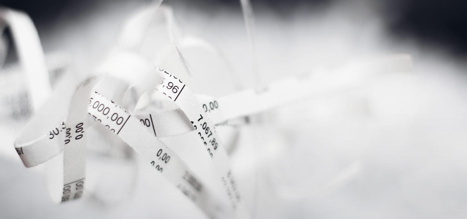 goedkope-papierversnipperaar-stroken