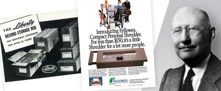 fellowes-historie-harry-l-fellowes