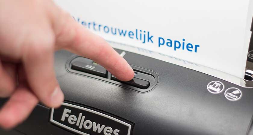 papiervernietiger-reverse-functie-paper-jam