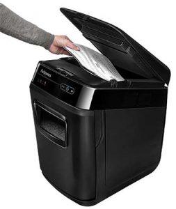 papierversnipperaar invoercapaciteit